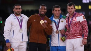 JORDAN EARNEST BURROUGHS WINS GOLD MEDAL In the MEN'S 74 KG FREESTLYE WRESTLING 2012 OLYMPIC