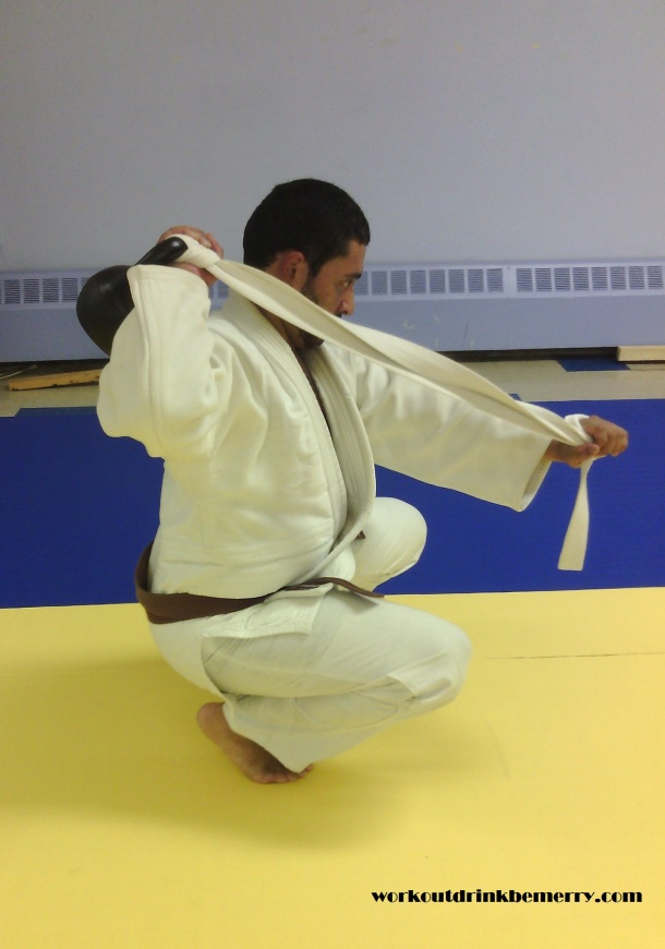 Workout: The 4 Step Judo Ippon Seoi Nage Kettle-bell Workout