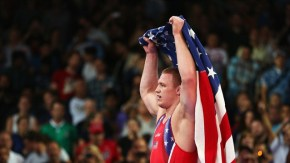 WRESTLING: JACOB STEPHEN VARNER WINS THE GOLD MEDAL