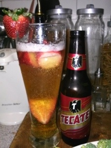 strawberry beer
