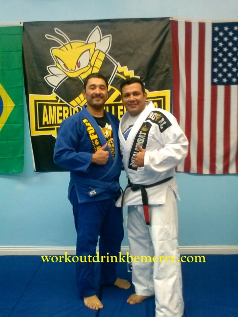 Angel and Professor Luis-AMERICAN KILLERBEESNYC-BJJ