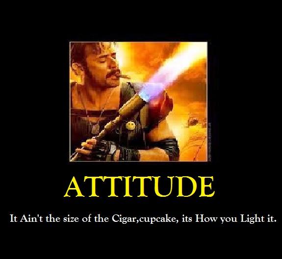 cigar attitude