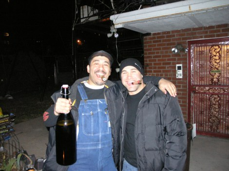 #sausagefest2013 Angel and Matt