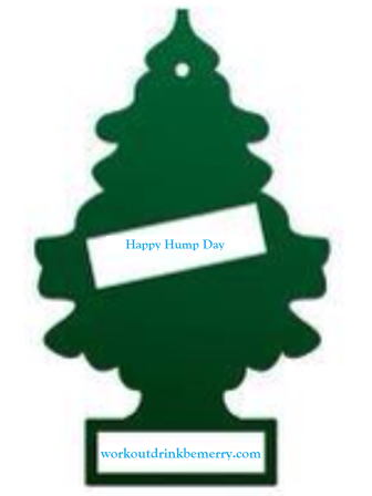 Happy Hump Day pine tree joke