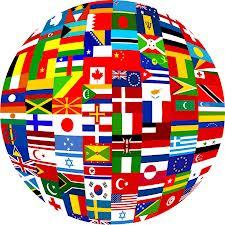 GLOBE-WORLD FLAGS JUDO