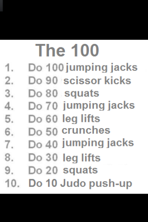 Workout: The 100