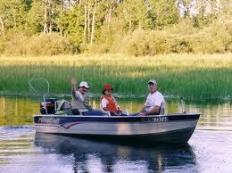 going fishing beer