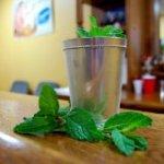 silver julep cup- Mint Julep