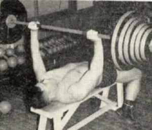 Kimura Bench press